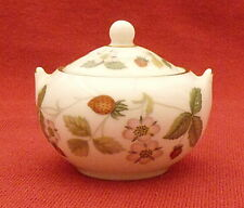Wedgwood Wild Strawberry miniature sugar bowl