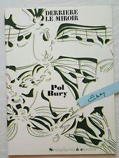Derriere Le Miroir Book #209 April 1974 Pol Bury Aime Maeght Lithographs HS