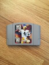 NFL Quarterback Club 99 Nintendo 64 N64 Game Cart Works BA5