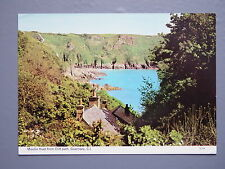 R&L Postcard: Moulin Huet from Cliff Path, Guernsey, ETW Dennis