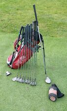 Full set mens mizuno irons callaway driver odyssey putter ping stand bag
