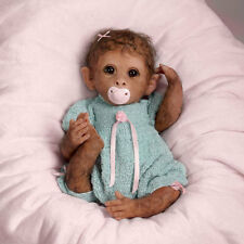 ASHTON DRAKE CLEMENTINE NEEDS A CUDDLE BY LINDA MURRAY MONKEY