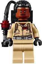 "[neu] LEGO Minifigur ""Dr. Winston Zeddemore"" aus Ghostbusters Set 75827"