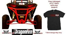 RED!! RacePace Rear Smash Bumper for RZR XP 1000 & Free Unhinged ATV T-Shirt