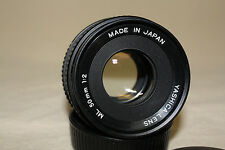 YASHICA ML 50mm 1:2 PRIME LENS FOR YASHICA / CONTAX MOUNT EUC 7115