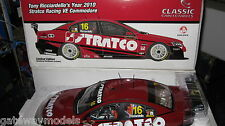 CLASSIC 1/18 2010 HOLDEN COMMODORE TONY RICCIARDELLO V8 SUPERCAR STRATCO 18438