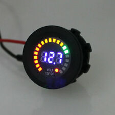 "Car Truck 2"" / 52mm Digital LED Volt Voltage 5-15v Gauge Meter Black Universal"