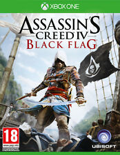 ASSASSINS CREED 4: BLACK FLAG XBOX ONE BRAND NEW SEALED OFFICIAL PAL