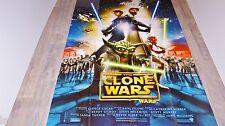 STAR WARS the clone wars   !  g lucas affiche cinema