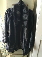 Antoni & Alison Brown Faux Fur Coat, size S, WORN ONCE
