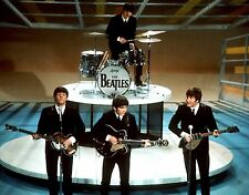 THE BEATLES ED SULLIVAN SHOW 8X10 GLOSSY PHOTO PICTURE IMAGE #3