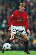 MANCHESTER UNITED HAND SIGNED TEDDY SHERINGHAM 6X4 PHOTO.