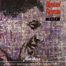 CD Album Maynard Ferguson Dues (Macarena, Tinsel) 80`s Maintream Records