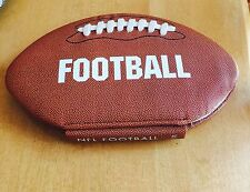 NFL Football History Of NFL Football Shaped Book 2008 Peter Murray Hall Of Famer