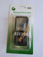 HOUSING SONY-ERICSSON K550 BLACK + KEYPAD HIGH QUALITY