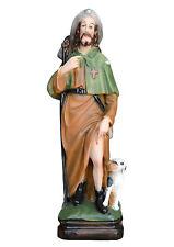 Saint Roch resin statue cm. 30 handmade in Italy