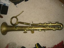 "Historic, very old OPHICLEIDE, predecessor of tuba, for repair""A. Lecomte Paris"""
