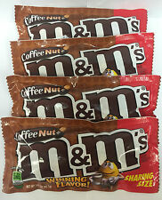 M&M's Coffee Nut 4ct Candy SHARING SIZE FREE THERMAL SHIPPING