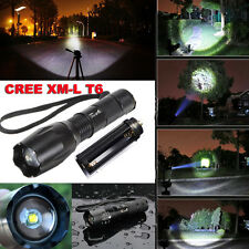 Ultrafire 2600 Lumen CREE XML T6 LED Flashlight 18650 Zoomable Torch Light Lamp