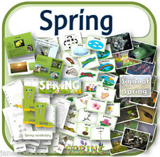 SPRING topic teaching resources Powerpoints, display, activities, games KS1 CD
