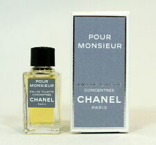 CHANEL POUR MONSIEUR CONCENTREE EAU DE TOILETTE 4 ML. 0.13 FL.OZ. NEW IN BOX.