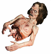 Halloween LifeSize Animated ZOMBIE TWITCH Animatronic Prop Haunted House NEW