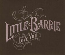 LITTLE BARRIE Love You CD Single Genuine 2006 Mint