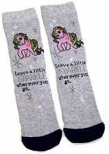 LADIES MY LITTLE PONY HAVE A LITTLE SPARKLE SOCKS UK SIZE 4-8 EUR 37-42 US 6-10