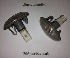 Peugeot 206 Side Indicator - Wing Indicator - Clear 98-06 Each