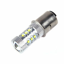 80W BA20D H6 White CREE 16 LED Motorcycle Motor Bike Moped ATV Headlight Bulb