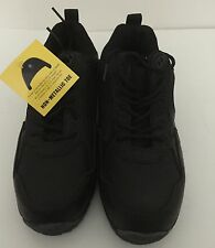 OXFORD AND LEEDS SIZE 7 All Leather SAFETY WORK SHOES Non Metallic Toe NIB