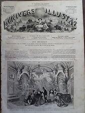 """L'UNIVERS ILLUSTRE 1874 N 993 AU THEATRE FRANCAIS """"LE SPHINX """"d' OCTAVE FEUILLET"""