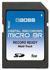 1GB SD BR-80 Boss Roland Digital Recorder 1 GIG Memory Card Micro-BR Upgrade