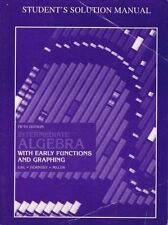 Intermediate Algebra with Early Functions & Graphing Students Solution Manual