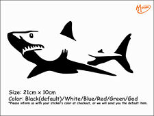 SHARK reflective Car Sticker Truck Boat Sticker Decal  Best Gifts