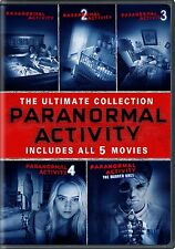 Paranormal Activity Complete 1 2 3 4 5 Films Horror Movies Collection DVD Scary