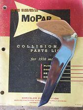 NOS 1965 1966? Dodge Polara Monaco 500 CHROME Bumper Guard LEFT REAR