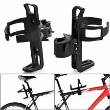Plastic Bicycle Cycle Glass Water Bottle Quick Release Holder Rack Road MTB Bike