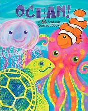 Big Fold-Out Flap: Ocean! by Joanne Barkan and Jo Brown (2009, Board Book)
