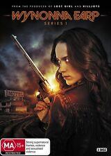 Wynonna Earp : Season 1 (DVD, 2017, 3-Disc Set) (Region 4) Aussie Release