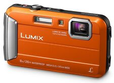 Panasonic Lumix DMC-TS25 Shock & Waterproof Digital Camera - Orange ✔Ships ASAP