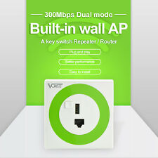 Repeater VONETS 300 MBPS router/bridge wall wireless WiFi router and USB charger