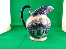 Victoria Ware Flow Blue Large Pitcher Jug