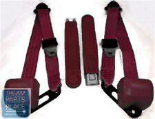 1978-87 Chevrolet El Camino Retractable OE Style Bucket Seat Belts - Maroon