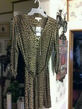 MICHAEL KORS  ANIMAL PRINT DRESS NWT {$120.00} SALE