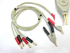 LCR Meter Low Resistance Test Probe Leads / LCR Test Clip / Terminal Kelvin Test