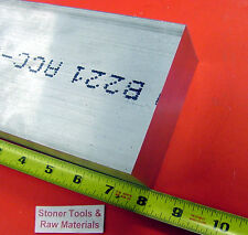 "1""x 4"" ALUMINUM FLAT BAR 8"" long 1.000"" Solid 6061 T6511 Plate Mill Stock"