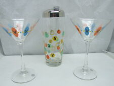 Playboy Martini Shaker and Glasses New