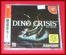 Dino Crisis for the Japanese Import Sega Dreamcast NEW SEALED