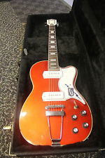 Eastwood Airline Tuxedo Electric Guitar - Copper + CASE - 2008